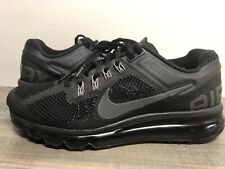 Nike Air Max Mens Running Athletic Black Shoes 554886-001 Size 8