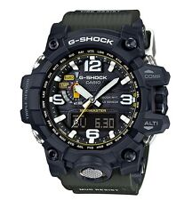 Casio G-Shock * Mudmaster GWG1000-1A3 Solar Triple Sensor Military Green Resin