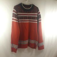 Nautica Men's 2XL Red/Blue/White Sweater Christmasy