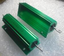 8 ohm 100w dummy load resistor aluminium clad 8R J 8RJ attenuator resistive amp