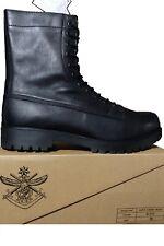 BRAND NEW - SIZE 15 - AUSTRALIAN MADE BLACK CADET / COMBAT BOOTS