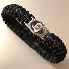 Thin Blue Line *  Paracord Bracelet * Florida Dept of Agriculture
