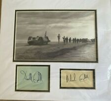 Donald Malcolm Campbell Bluebird Autograph Double Signed Mounted Display