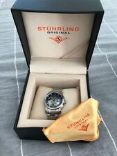 Stührling Stainless Steel Case Wristwatches