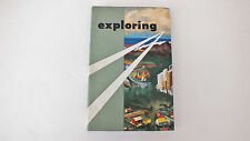 VINTAGE 1958 EXPLORING MANUAL BY THE BOY SCOUTS OF AMERICA - Very Good Clean