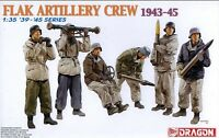 Dragon 1/35 6275 WWII German Flak Artillery Crew (1943-1945) (6 Figures)