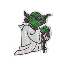 YODA Iron on / Sew on Patch Embroidered Badge Motif Movie Star Wars PT284