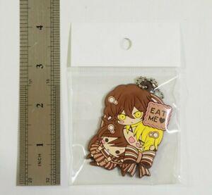 Pandora Hearts Square Enix Rubber Keychain Japan Anime #A798
