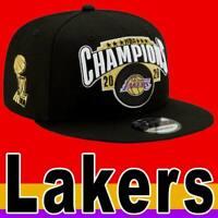 OFFICIAL NBA NEW ERA 9FIFTY LA LAKERS 2020 CHAMPIONS CAP BLACK SNAPBACK YOUTH