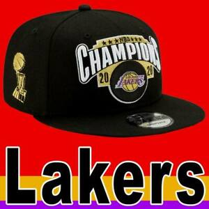 OFFICIAL NBA NEW ERA 9FIFTY LA LAKERS 2020 CHAMPIONS CAP BLACK SNAPBACK YOUTH