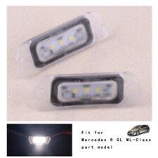 Für Mercedes X164 W164 W251 GL ML R Klasse 2006-2012 LED Lizenz Teller Licht