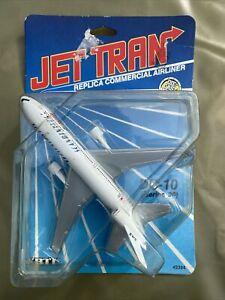 Ertl Jet Tran Diecast Aircraft - McDonnell Douglas DC10 (series30) Scandanavian