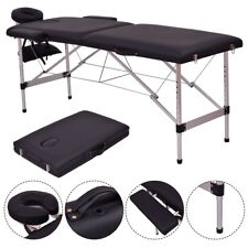 """Portable 72"""" L Massage Table SPA Bed Tattoo Aluminum Facial with Free Carry Case"""
