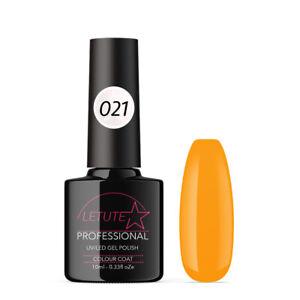 021 LETUTE™ Tangerine Soak Off UV/LED Nail Gel Polish