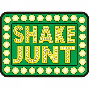 SHAKE JUNT BOX LOGO SKATEBOARD STICKER NEW - BAKER DEATHWISH SKATE FREE POST