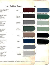 1942 CADILLAC FLEETWOOD SIXTY SPECIAL 42 PAINT CHIPS DUPONT 3