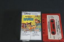 Walt Disney Songs From BAMBI Vintage Cassette Tape Very Good++++/Excellent Shape
