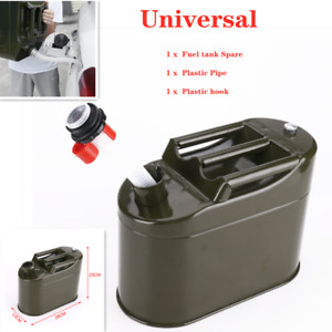 Fuel Tank Metal Vertical Barrel Tank Car Petrol Container Can 5000ML anti-static