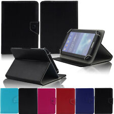 Classic Folio Folding Leather Cover Case For Verizon Ellipsis 7 8 10 Inch Tablet