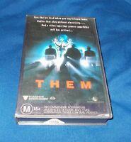 THEM VHS PAL ROADSHOW 1996 ORIGINAL ROADSHOW CASE