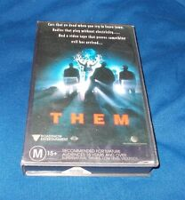 THEM VHS PAL ROADSHOW 1996 ORIGINAL ROADSHOW CASE