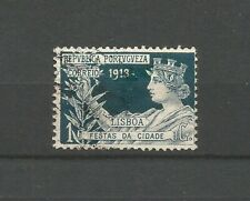 Portugal République 1913 fêtes de Lisbonne timbre oblitéré /T9068