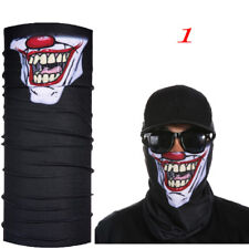 2017skull Clown Ski Cycling NECKTUBE Scarf Face Mask Balaclava Bandana Halloween 1