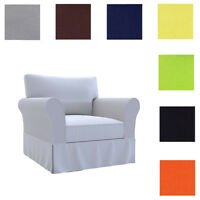 Custom Made Cover Fits Pottery Barn Basic Armchair, Replace PB Basic Chair Cover