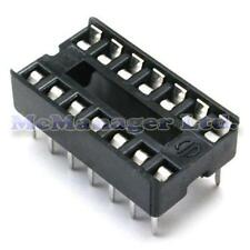"5x 14 Pin RoHS PCB IC Socket DIL/DIP 14 0.3"""