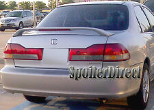98-02 HONDA ACCORD 4DR FACTORY STYLE SPOILER REAR DECK WING - PRIMER FINISH