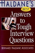Haldane's Best Answers to Tough Interview Questions-ExLibrary