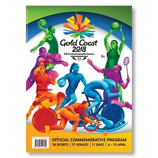 Gold Coast 2018 Commonwealth Games - Official Commemorative Program Programme