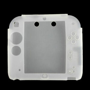 For Nintendo 2DS 1/2pcs Protective Soft Silicone Rubber Gel Skin Case Cover Skin