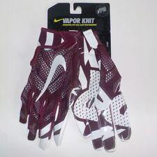 Nike VAPOR KNIT NFL Skill Player Receiver Gloves MAROON GF0386 661 Adult LARGE