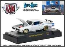 M2 Machines 1:64th Diecast Car '70 Dodge Super Bee HEMI in Acrylic Display Case