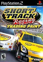 NEW Short Track Racing: Trading Paint (Sony PlayStation 2, 2009) PS2