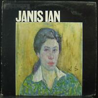 JANIS IAN s/t LP VG+ FTS 3017 1st Press Vinyl 1967 Record