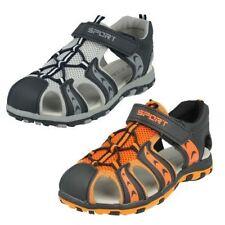 Sandales à attache auto-agrippant pour garçon de 2 à 16 ans