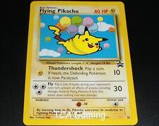 Flying Pikachu #25 Black Star PROMO WOTC Rare NEAR MINT Pokemon Card