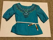 2013 American Girl Doll of the Year Retired Saige Tunic Picnic Outfit Shirt ONLY