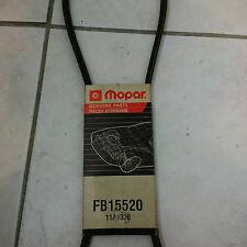 MOPAR BELT FB15520, 11A1320 Serpentine