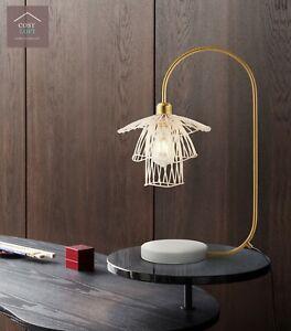 Flower Table Lamp Designer Bedside Living Room Reading Light Interior Design NEW