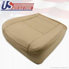 2002 To 2007 Ford F250 Super Duty Lariat PASSENGER Bottom Leather Seat Cover TAN