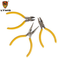 LTMS Mini Flat Nose Pliers Modeling Jewellery Making Beading Tools Wire Cutter