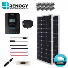 Renogy 200W Mono Solar Panel Premium Kit MPPT Controller Off Grid 12V 24V System