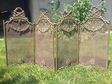 Pare feu en bronze  18 ou 19ème / Bronze firewall 18 or 19 century
