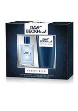 DAVID BECKHAM CLASSIC BLUE 40ML EDT SPRAY + 200ML SHOWER GEL GIFT SET