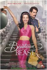 BEAUTICIAN AND THE BEAST MOVIE POSTER Original 27x40 FRAN DRESCHER 1997