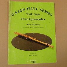 flute GOLDEN FLUTE SERIES Erik Satie, three gymnopedies, Robin de Smet