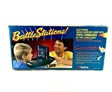 Vintage Battlestations Battle Ships Electronic Full Working Order MINT COND RARE